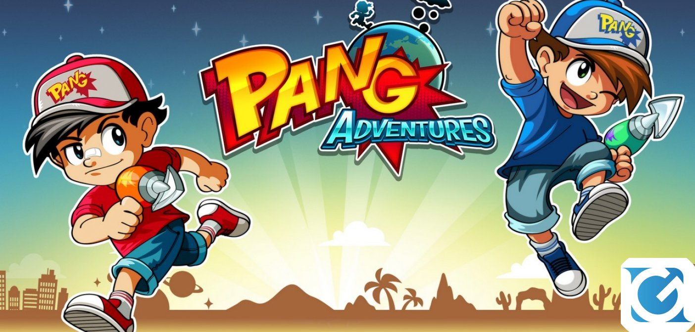 Pang Adventures - Buster Edition è disponibile su Switch