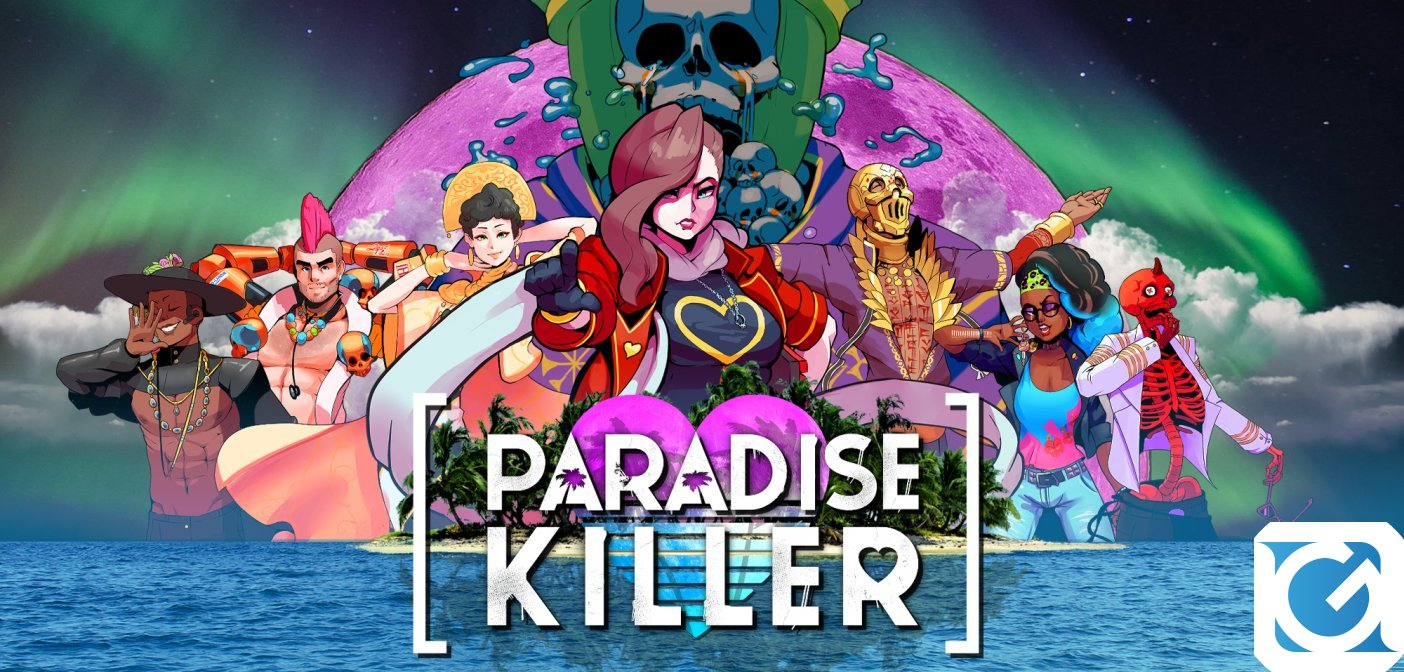 Paradise Killer è disponibile su PC e Switch