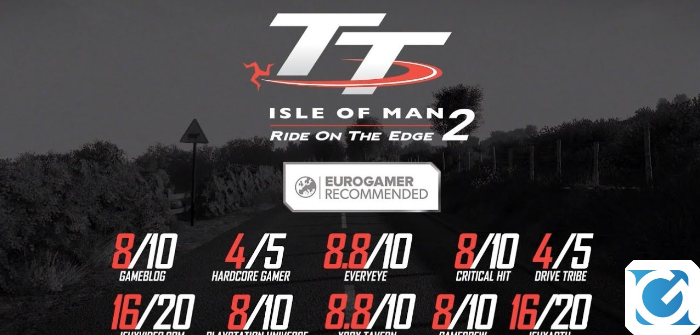 Partenza col botto per TT Isle of Man - Ride on the Edge 2