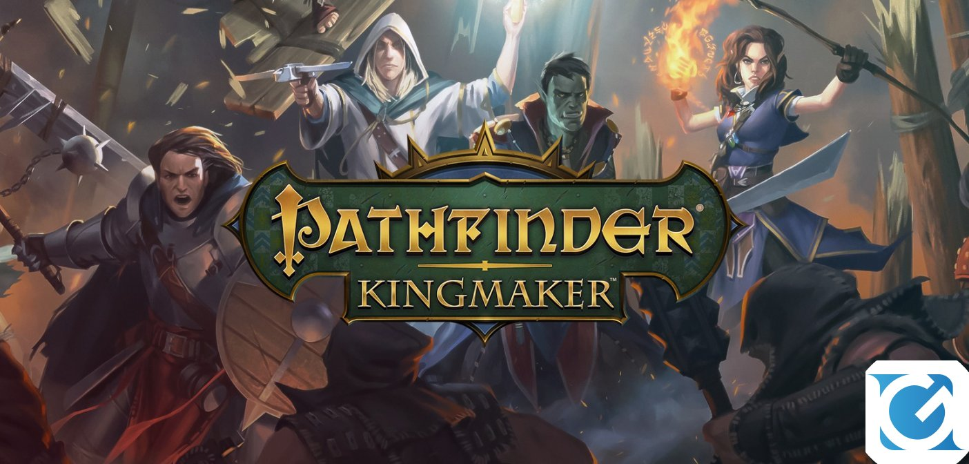 Pathfinder: Kingmaker e' disponibile per PC e Mac