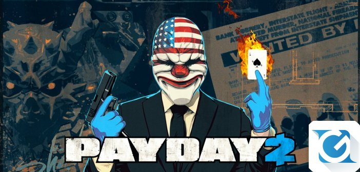 Payday 2 e' disponibile per Nintendo Switch