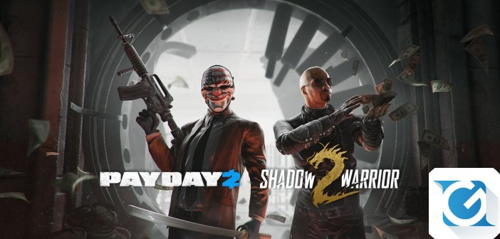 PAYDAY 2 e Shadow Warrior 2 insieme per un evento crossover