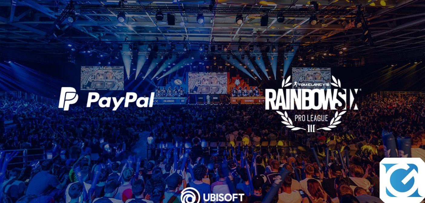 Ubisoft e PayPal insieme per Tom Clancy's Rainbow Six Pro League e i Majors