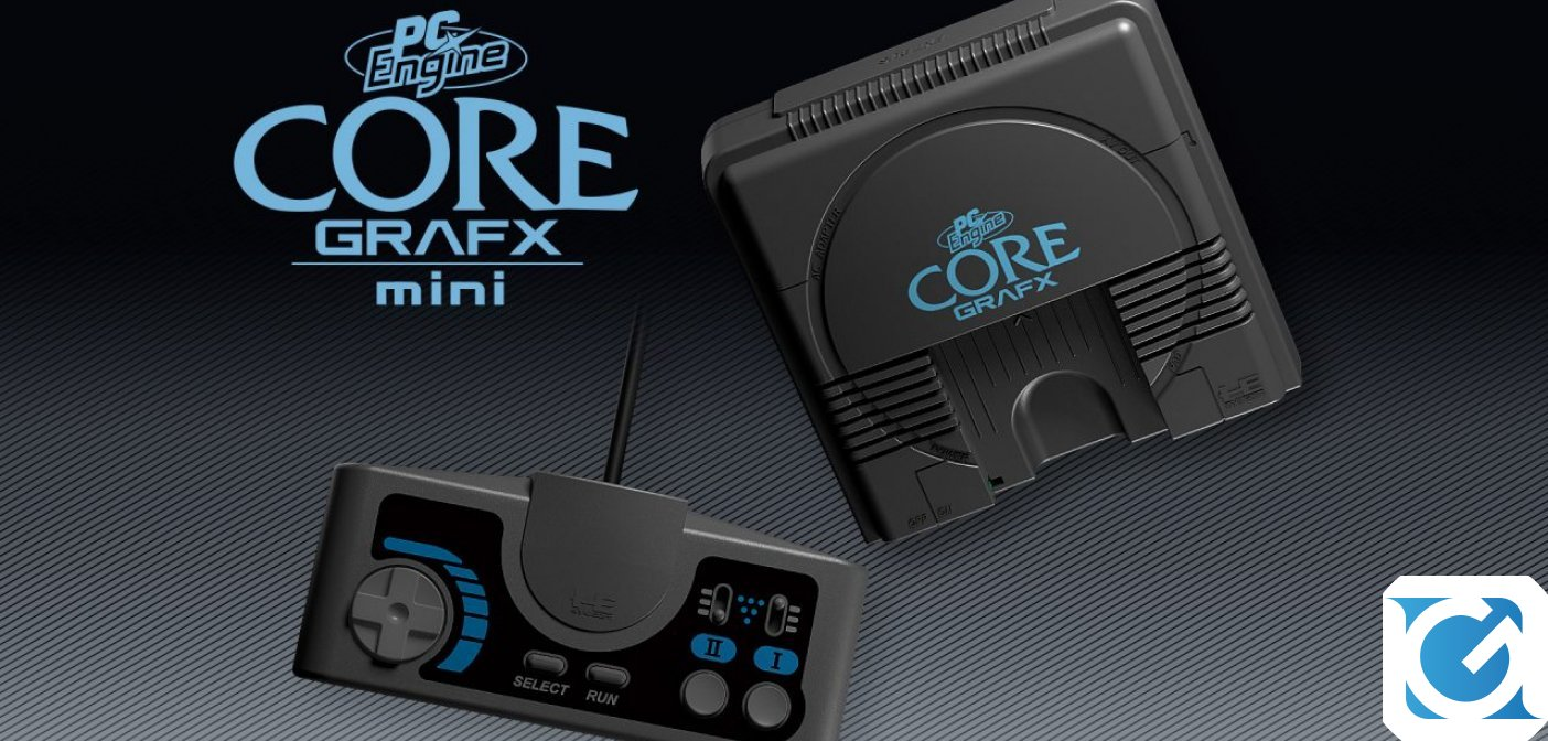 PC Engine Core Grafx Mini: la console di Konami è disponibile Amazon