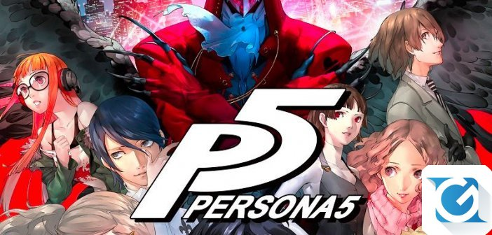Persona 5 e' finalmente disponibile per Playstation 4