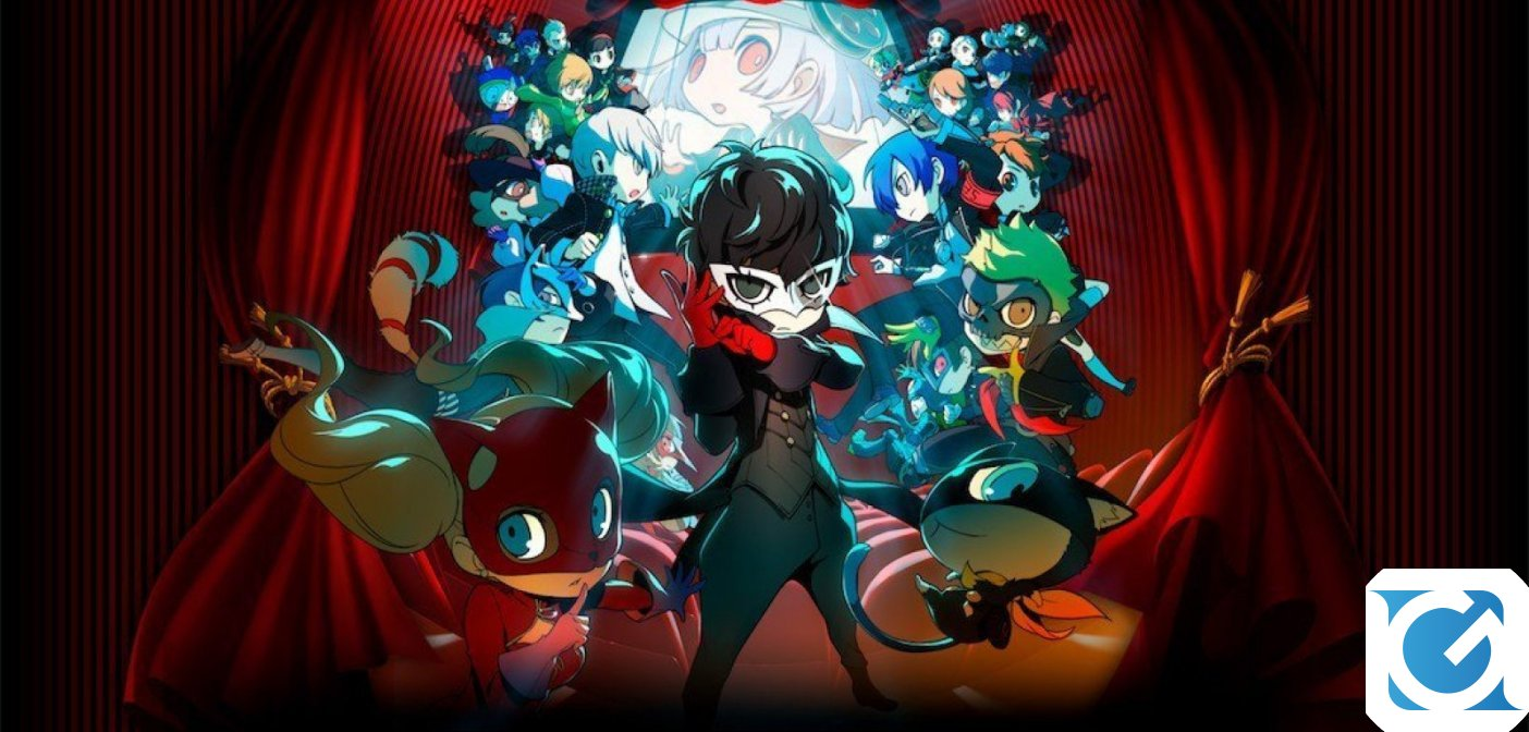 Persona Q2: New Cinema Labyrinth arriva su 3DS a giugno!