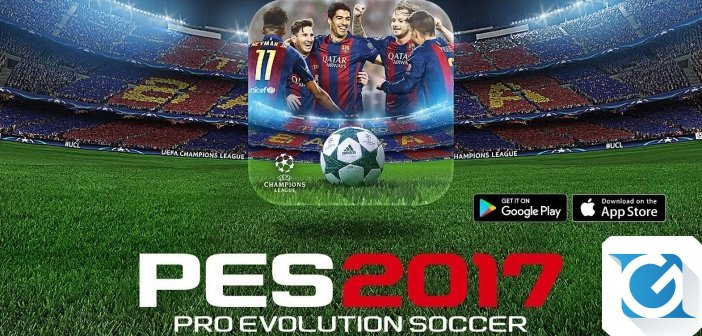 PES 2017 arriva su iPhone a Android