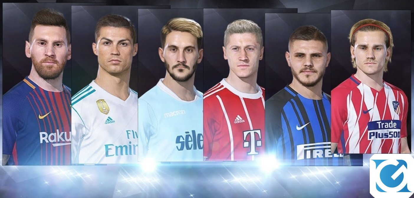 Il Data Pack 3.0 di PES 2019 è disponibile
