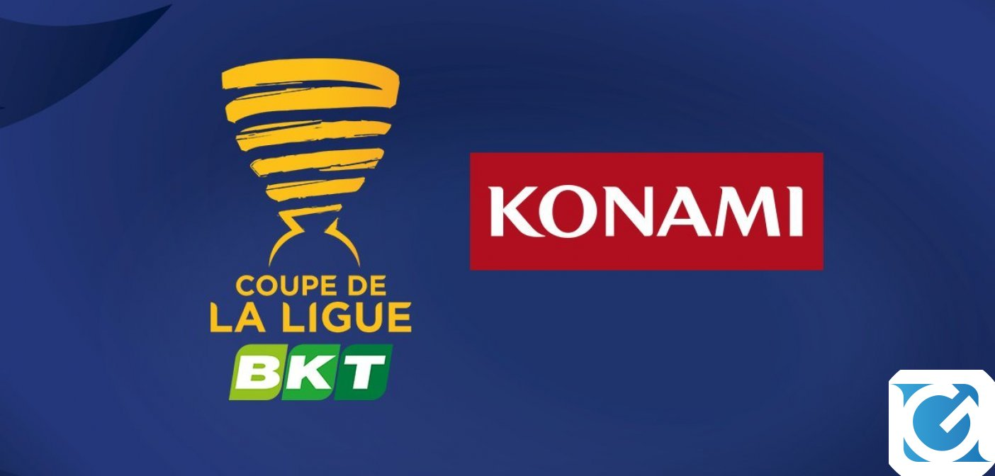 La Coppa di Lega Francese BKT ha un nuovo Major Partner: KONAMI