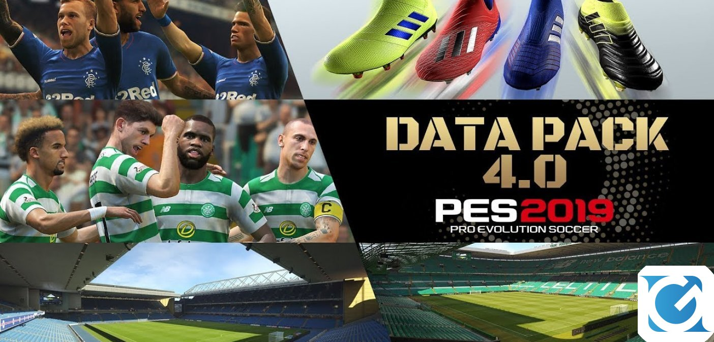 E' disponibile il Data Pack 4.0 di PES 2019
