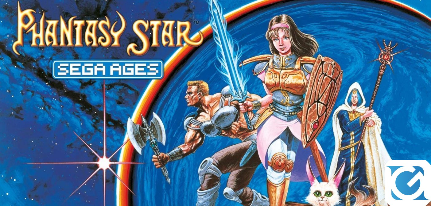 Phantasy Star arriva su Switch nella collana SEGA AGES