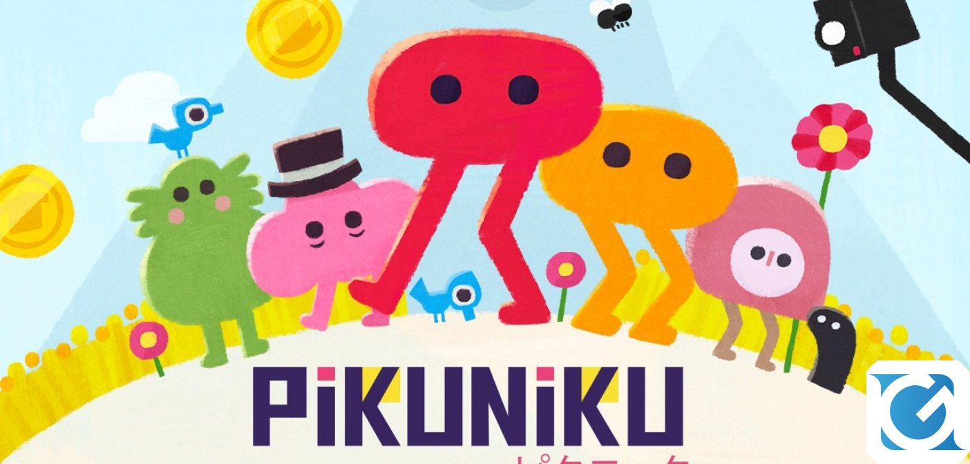 PIKUNIKU è disponibile per PC e Switch