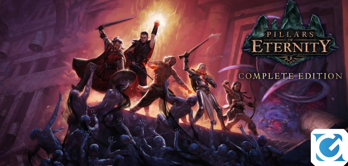 Pillars of Eternity: Complete Edition è disponibile su Nintendo Switch