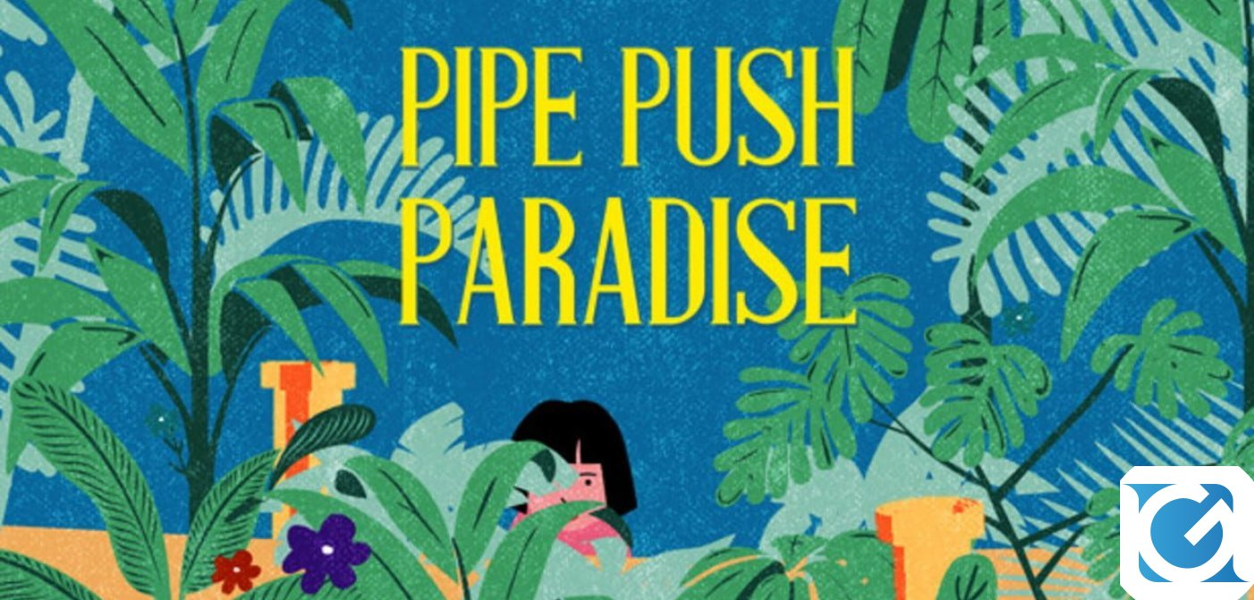 Il puzzle game Pipe Push Paradise arriva su Nintendo Switch