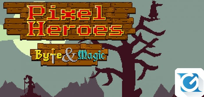 Pixel Heroes Byte And Magic arriva su Playstation 4