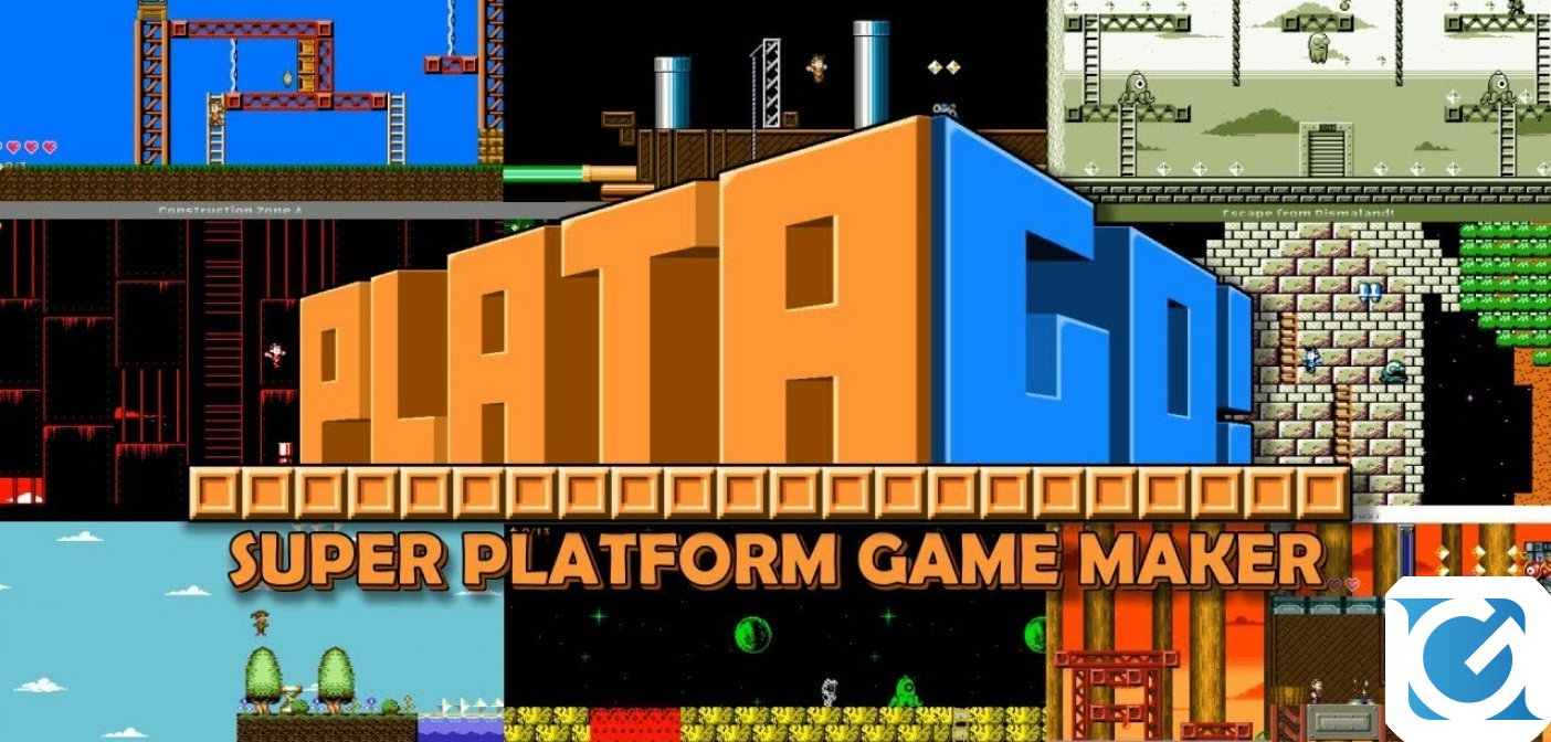 PlataGO! Super Platform Game Maker è disponibile per Switch e PC