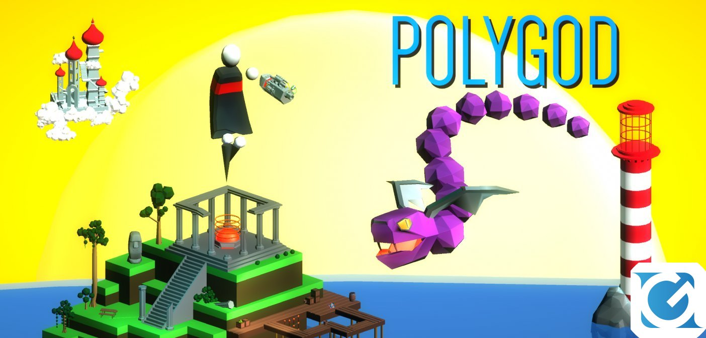 Polygod e' disponibile per XBOX One, Nintendo Switch e PC