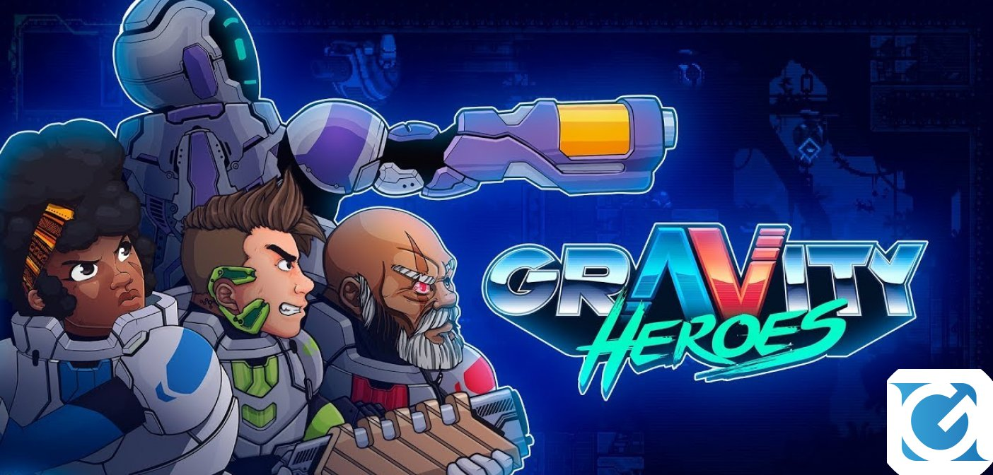 PQube annuncia Gravity Heroes per PC, XBOX One e PS4