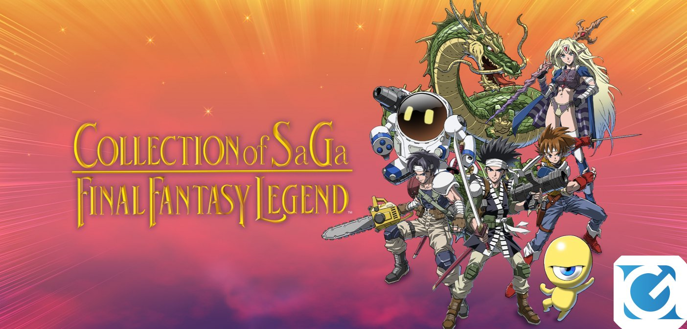 Preparati alla più epica delle saghe con Collection of Saga Final Fantasy Legend per Nintendo Switch
