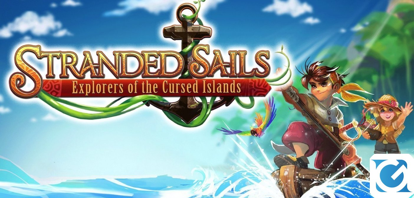 Presentato un nuovo gameplay trailer per Stranded Sails - Explorers of the Cursed Islands al Tokyo Game Show
