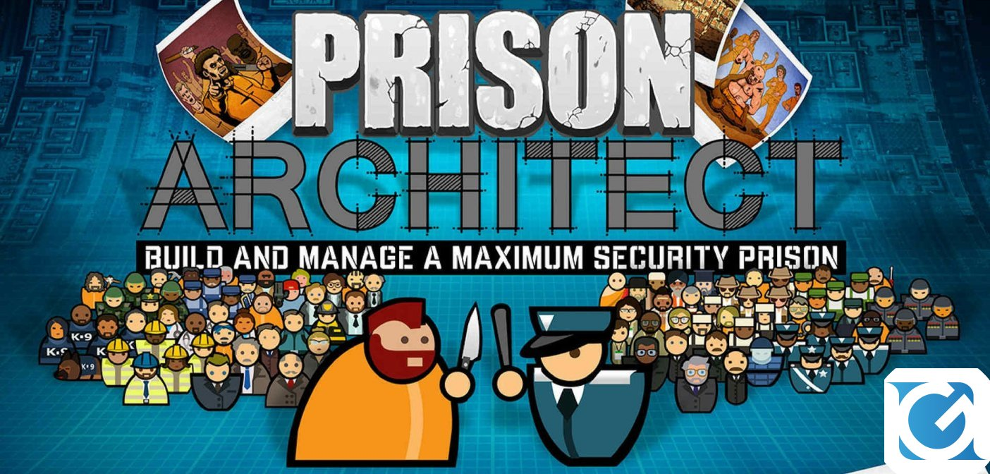 Paradox Interactive ha acquistato l'IP di Prison Architect