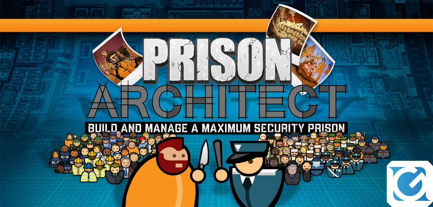 Prison Architect: nuovo DLC disponibile