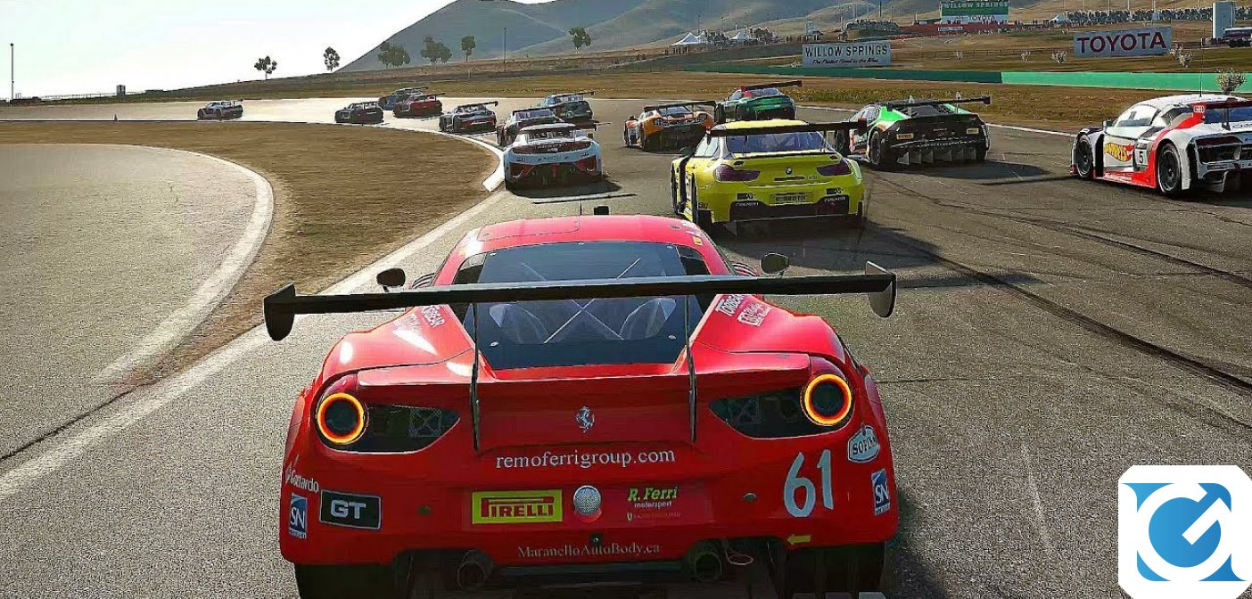Project CARS 2: disponibile il Ferrari Essentials Pack