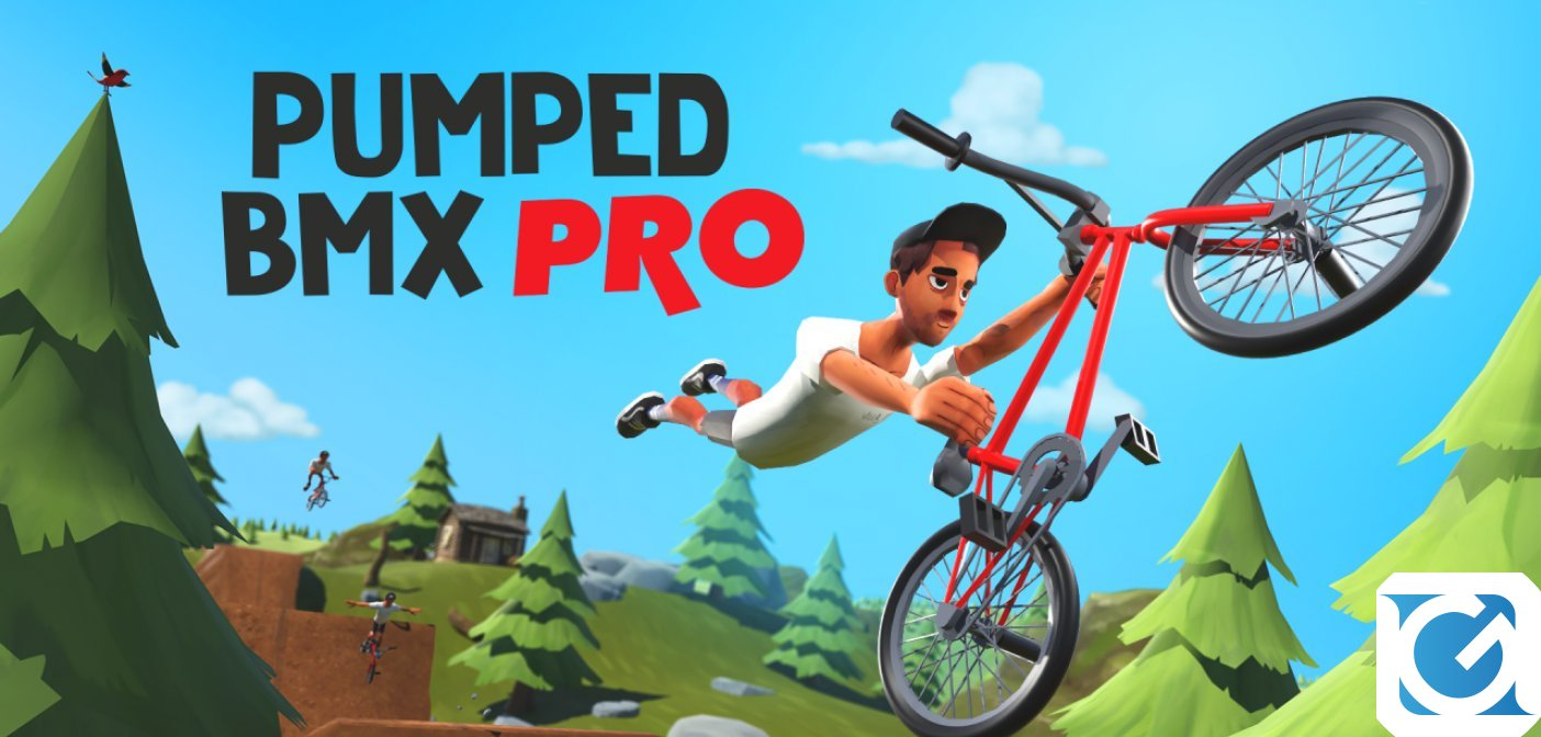 Pumped BMX Pro è ora disponibile per PC, Xbox One e Nintendo Switch