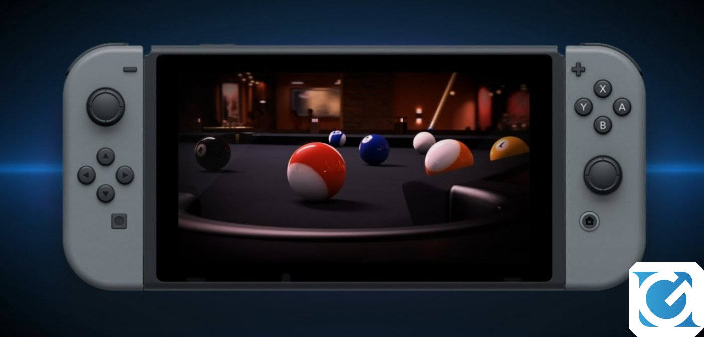 Pure Pool è disponibile da oggi su Nintendo Switch