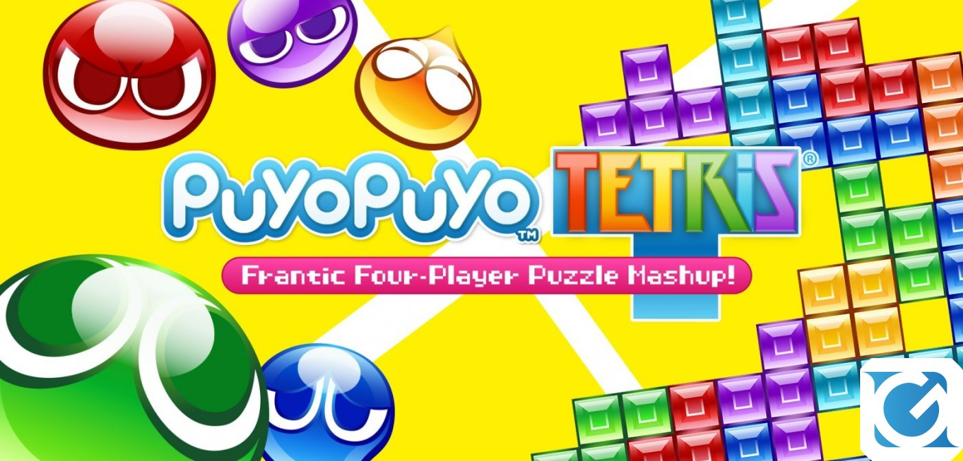 Puyo Puyo Tetris è disponibile in digitale per PS4