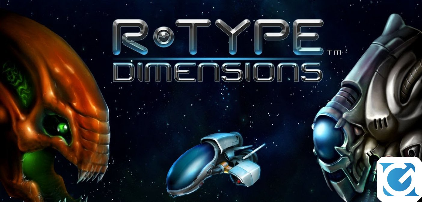 R-Type Dimensions arriva su Nintendo Switch quest'inverno