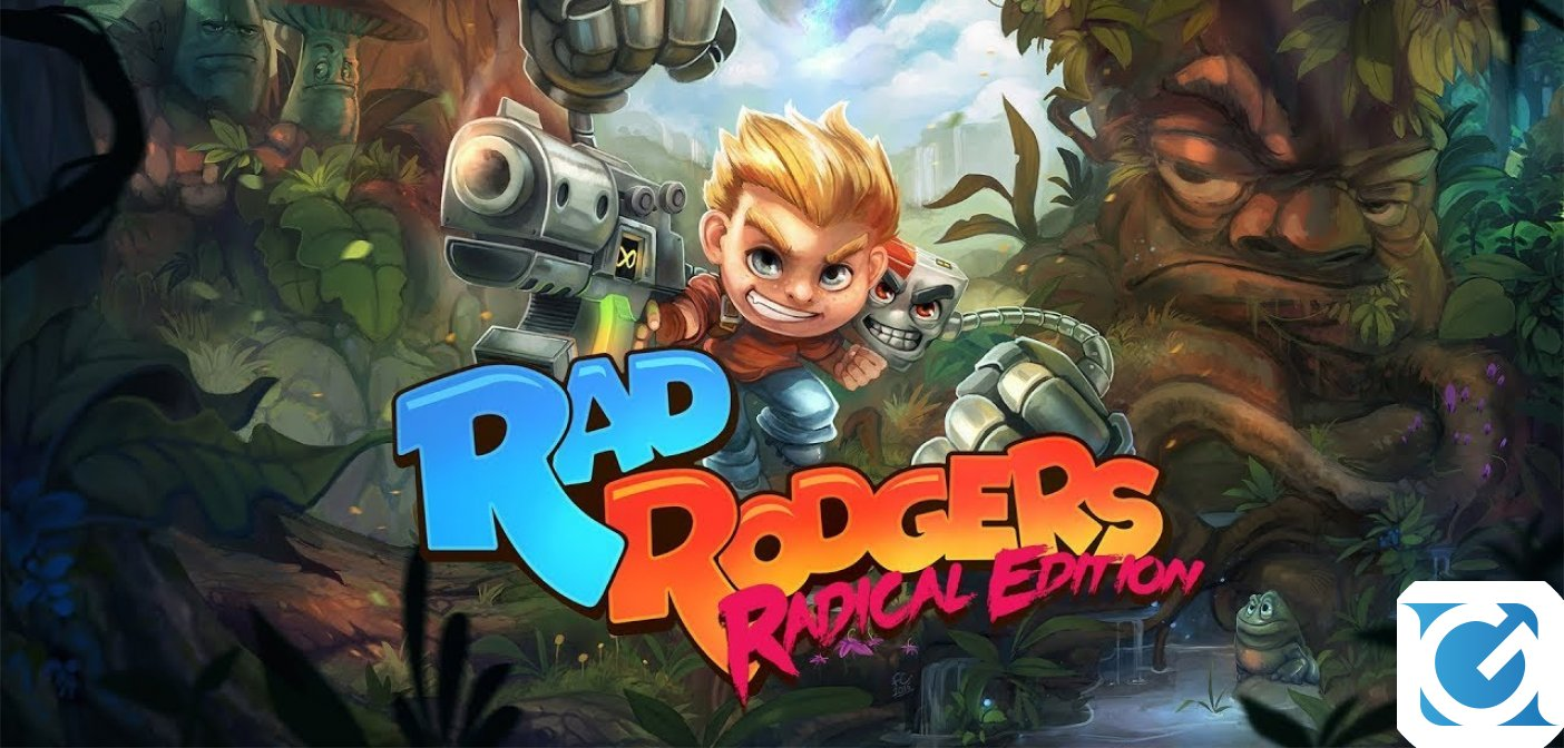Rad Rodgers: Radical Edition presto su Switch