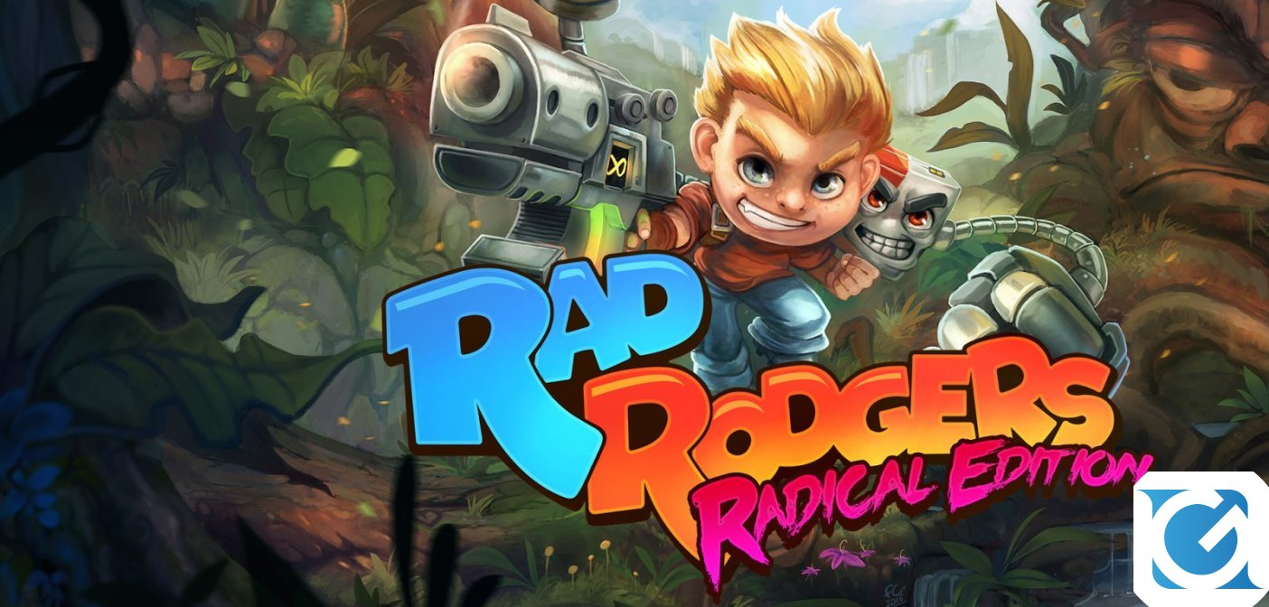 Rad Rodgers Radical Edition è disponibile su Switch