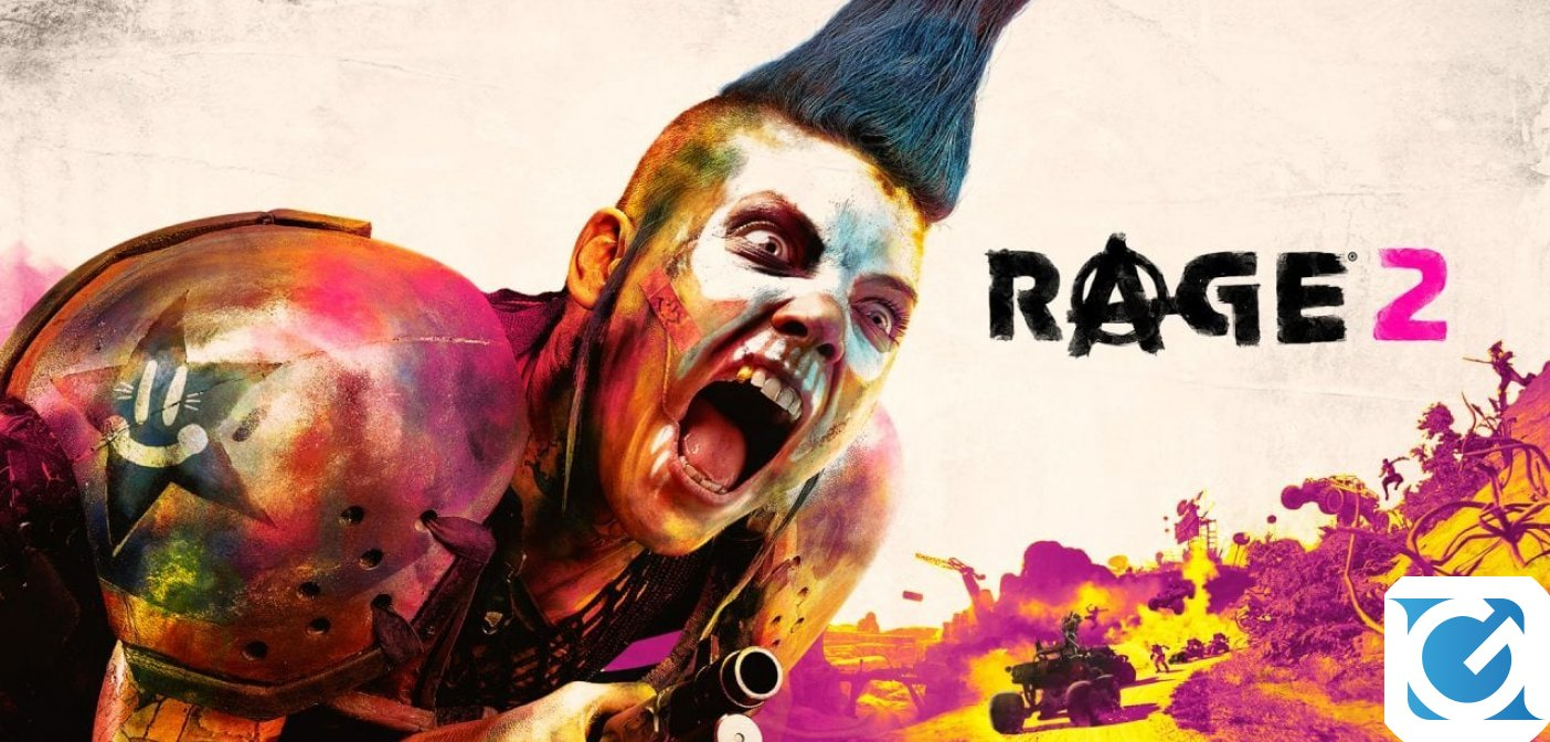 RAGE 2 è finalmente disponibile per PC e console