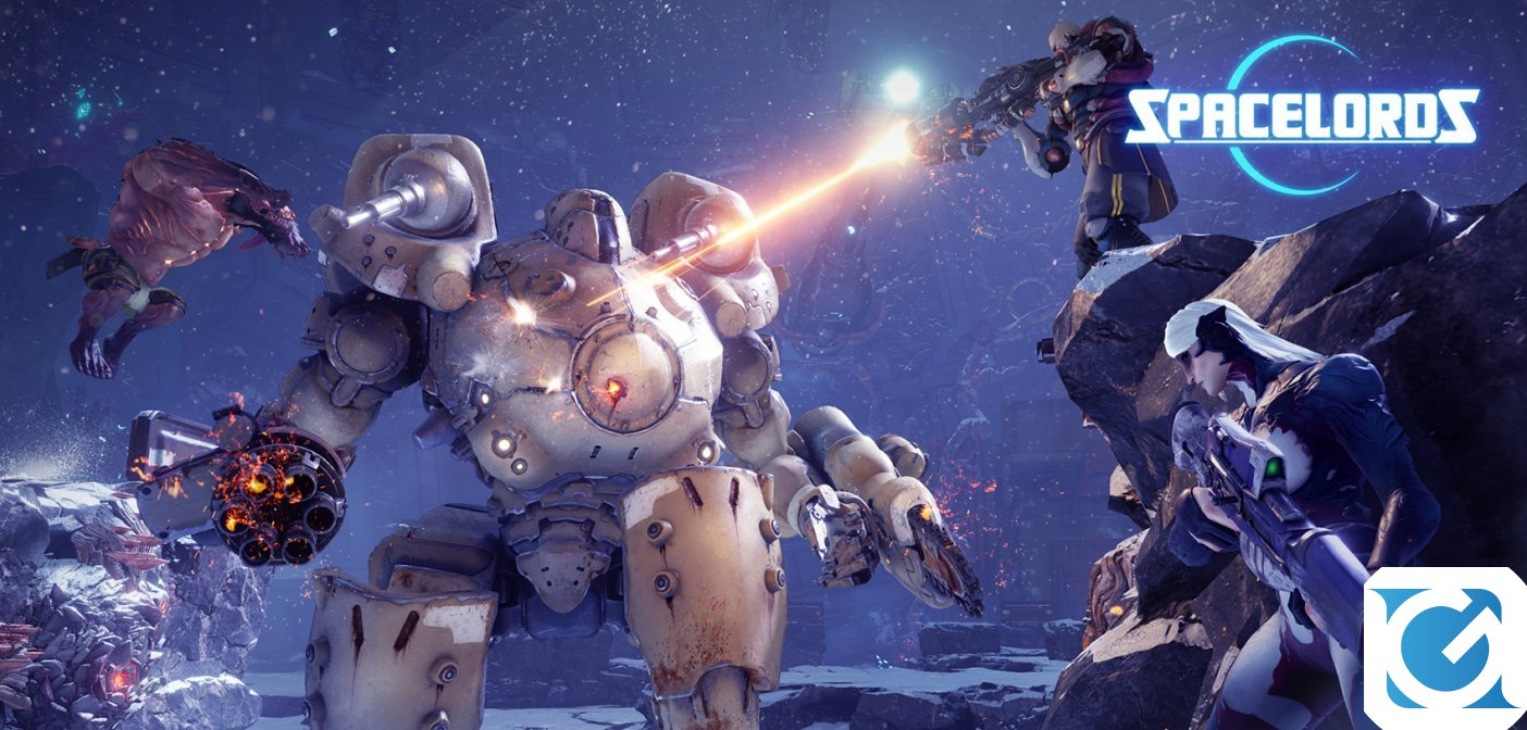 Spacelords e' disponbile gratuitamente per XBOX One, PS4 e PC