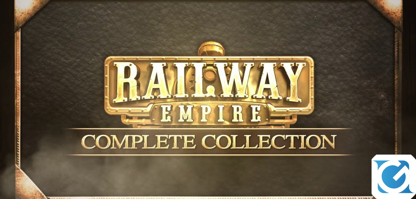 Railway Empire - Complete Collection è disponibile per PC e console