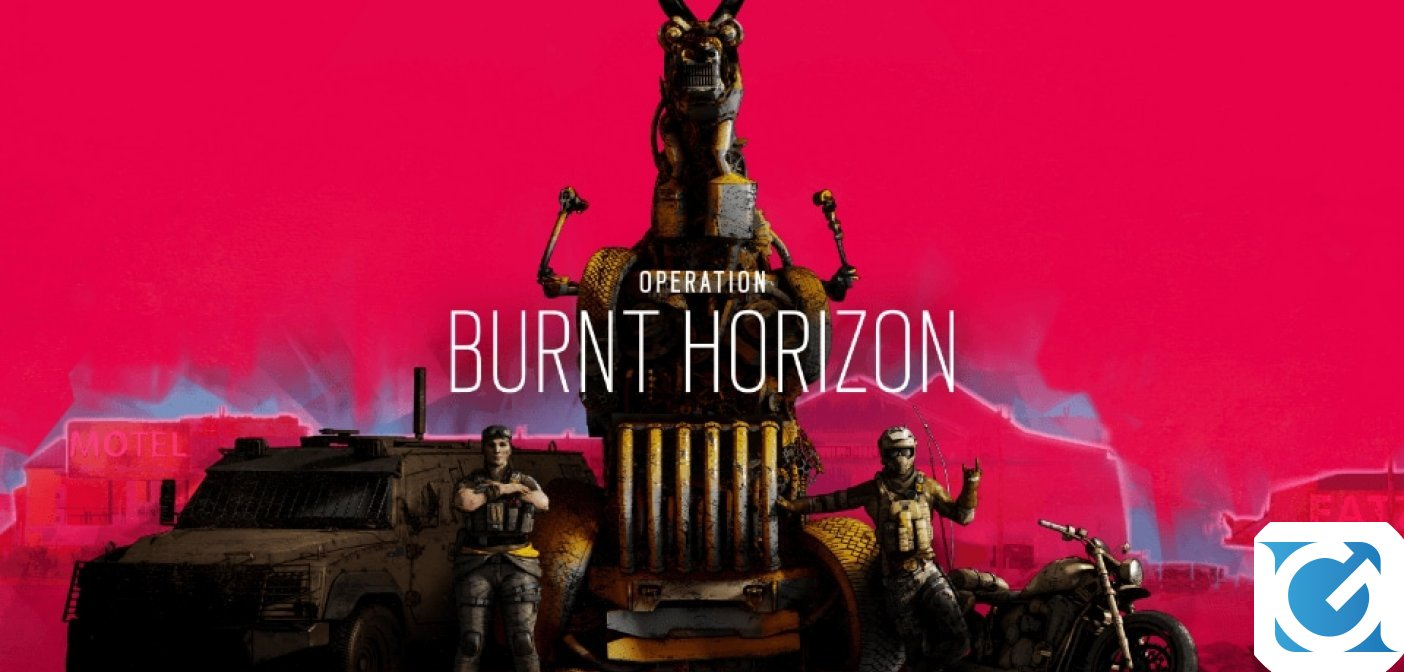L'Operazione Burnt Horizon di Rainbow Six Siege è disponibile