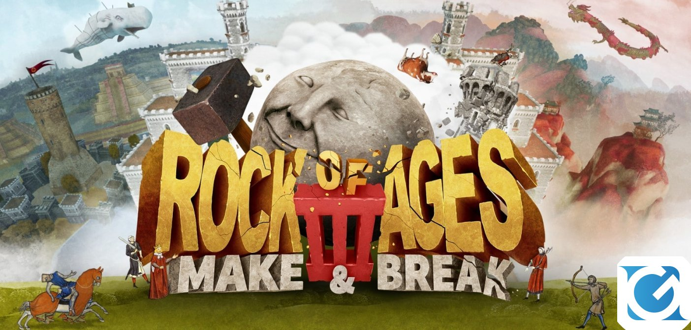 Recensione Rock Of Ages 3: Make & Break per Nintendo Switch - Rotolando verso sud