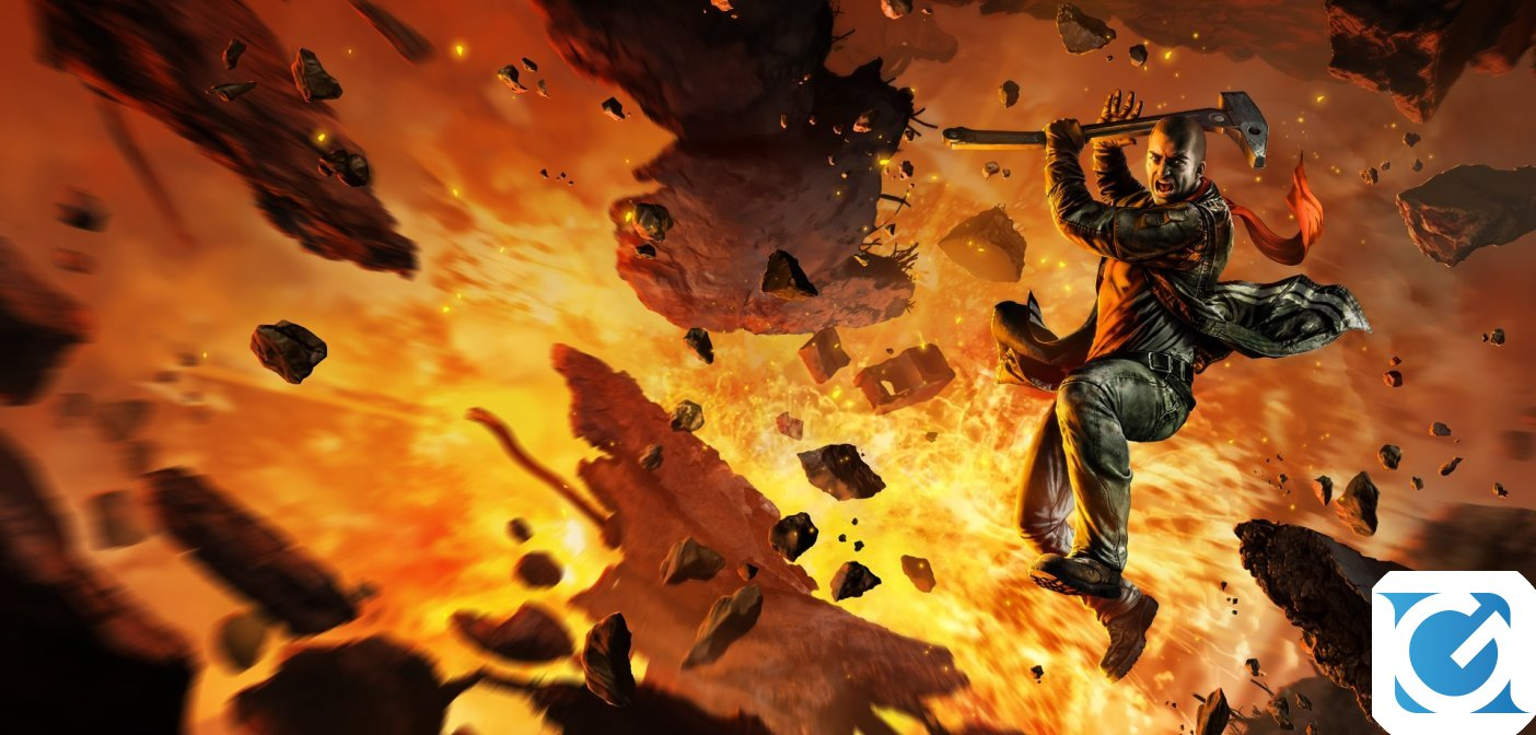 Red Faction Guerrilla Re-Mars-tered annunciato per Switch