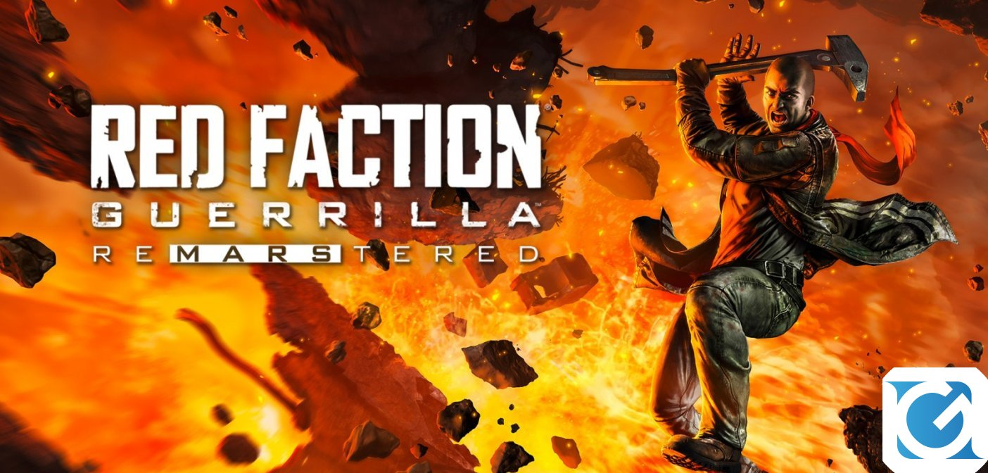 Red Faction Guerrilla Re-Mars-tered è disponibile per Nintendo Switch