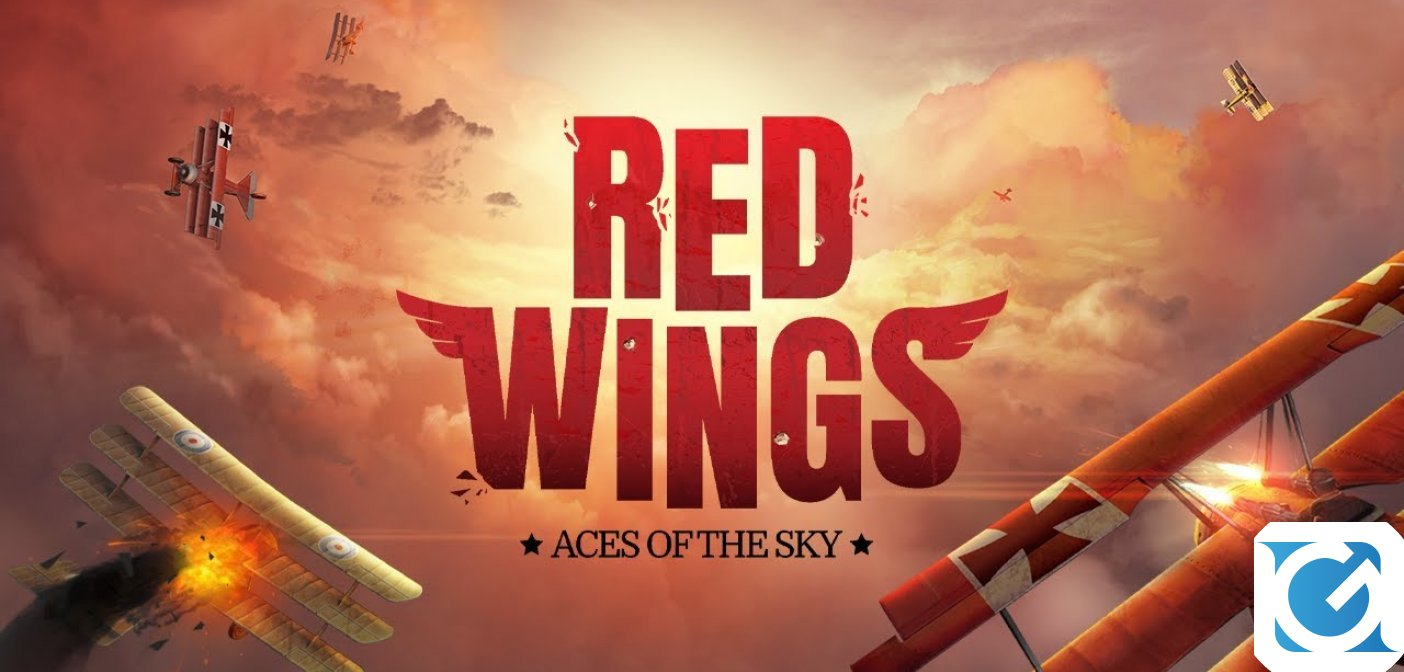 Red Wings: Aces of the Sky arriva su Nintendo Switch in esclusiva temporale