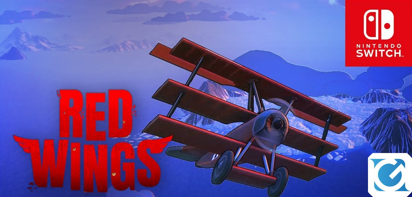 Red Wings: Aces of the Sky è disponibile per Switch