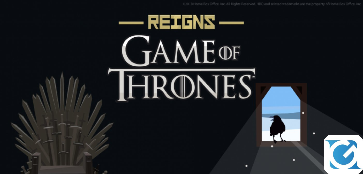 Annunciato Reigns Game of Thrones!