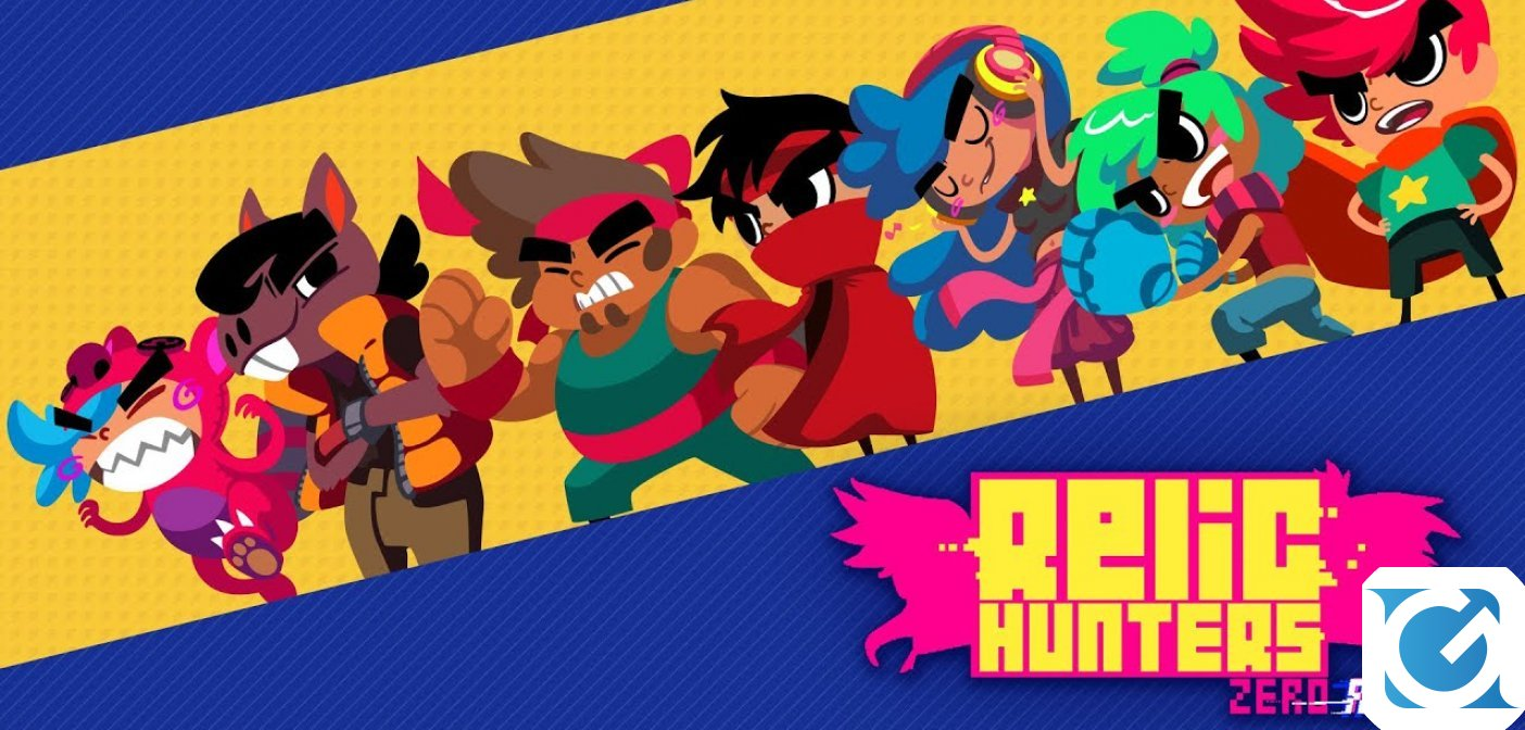 Relic Hunters Zero: Remix è disponibile su Switch