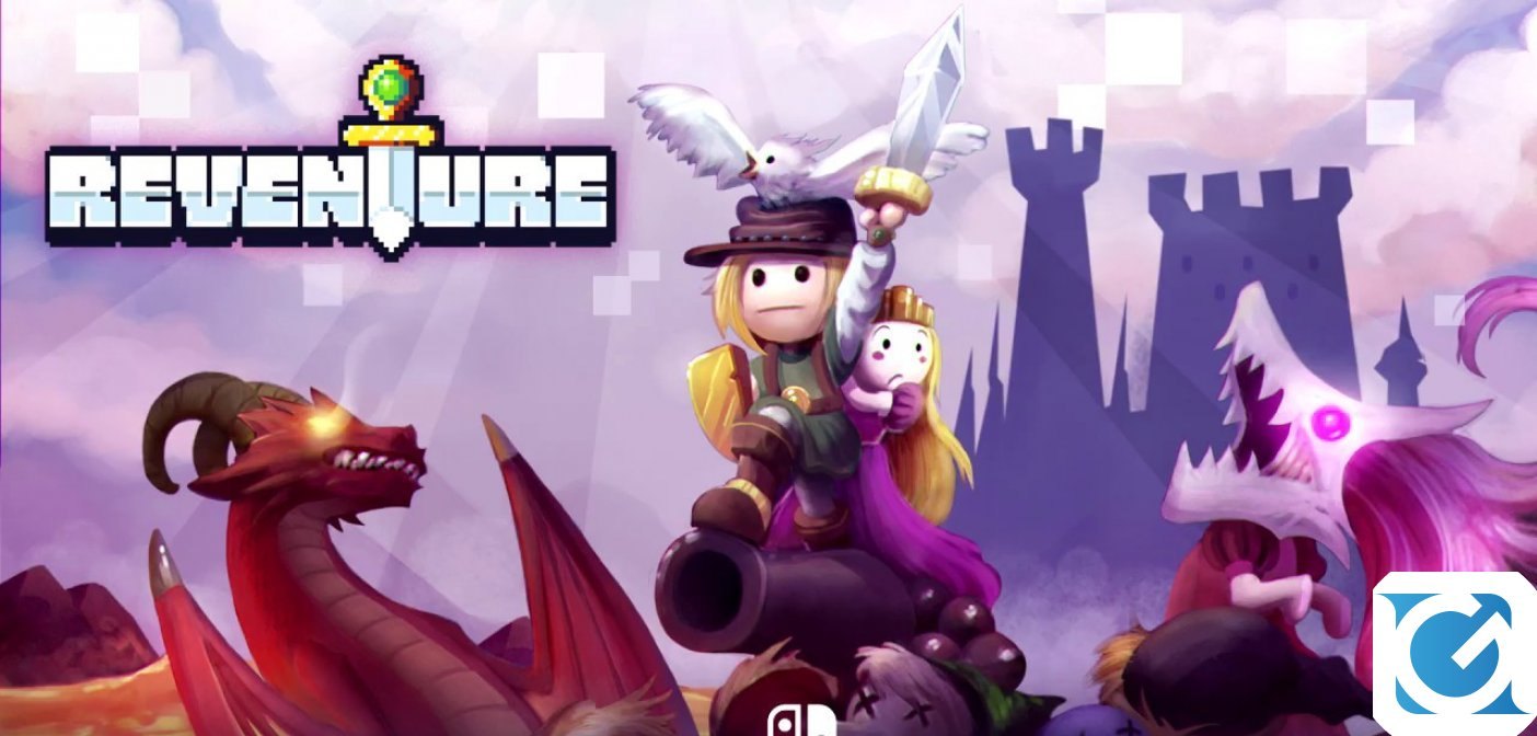 Reventure è disponibile su Nintendo Switch