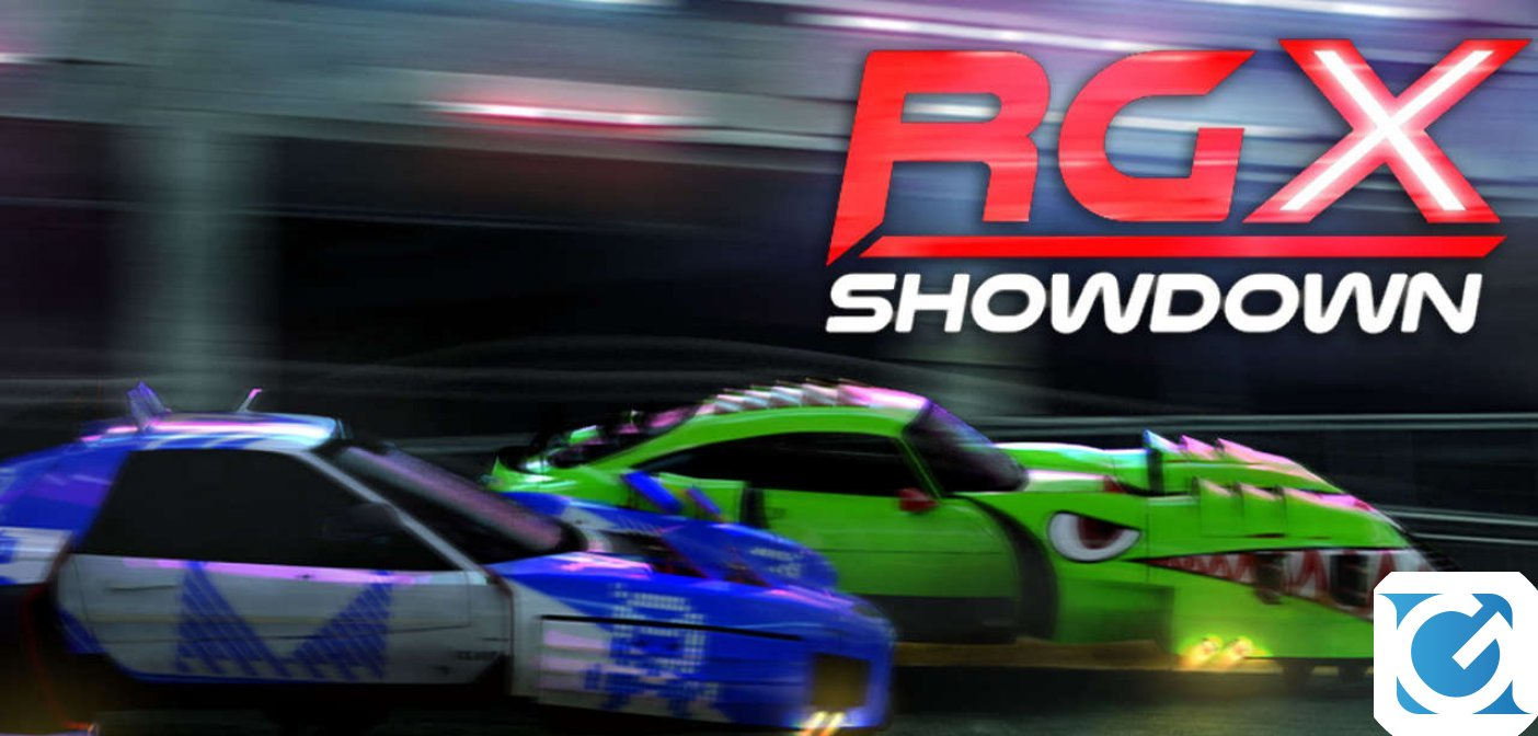 RGX Showdown e' disponibile per XBOX One e Playstation 4