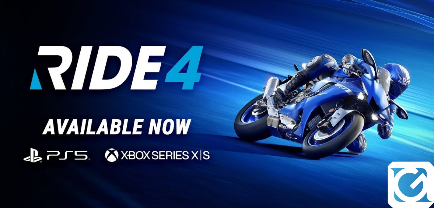 RIDE 4 è disponibile per Playstation 5 e XBOX Series X