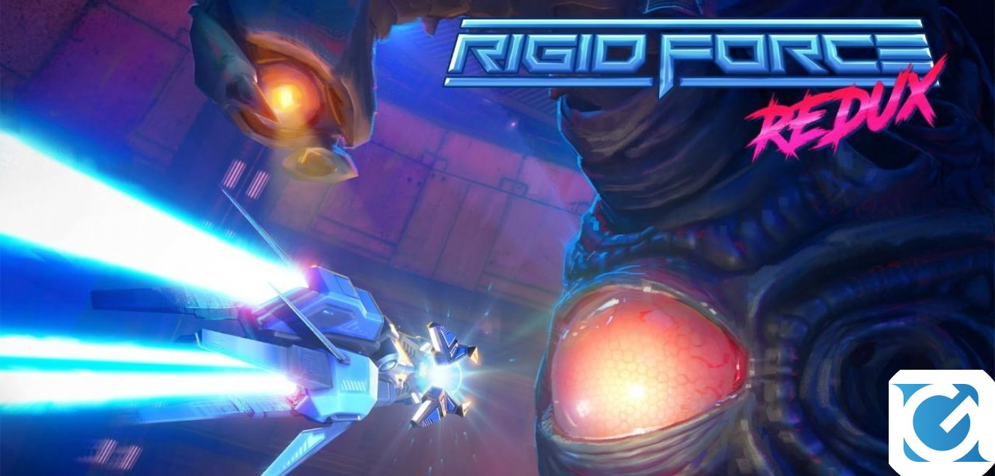 Rigid Force Redux arriverà presto su XBOX One e Nintendo Switch