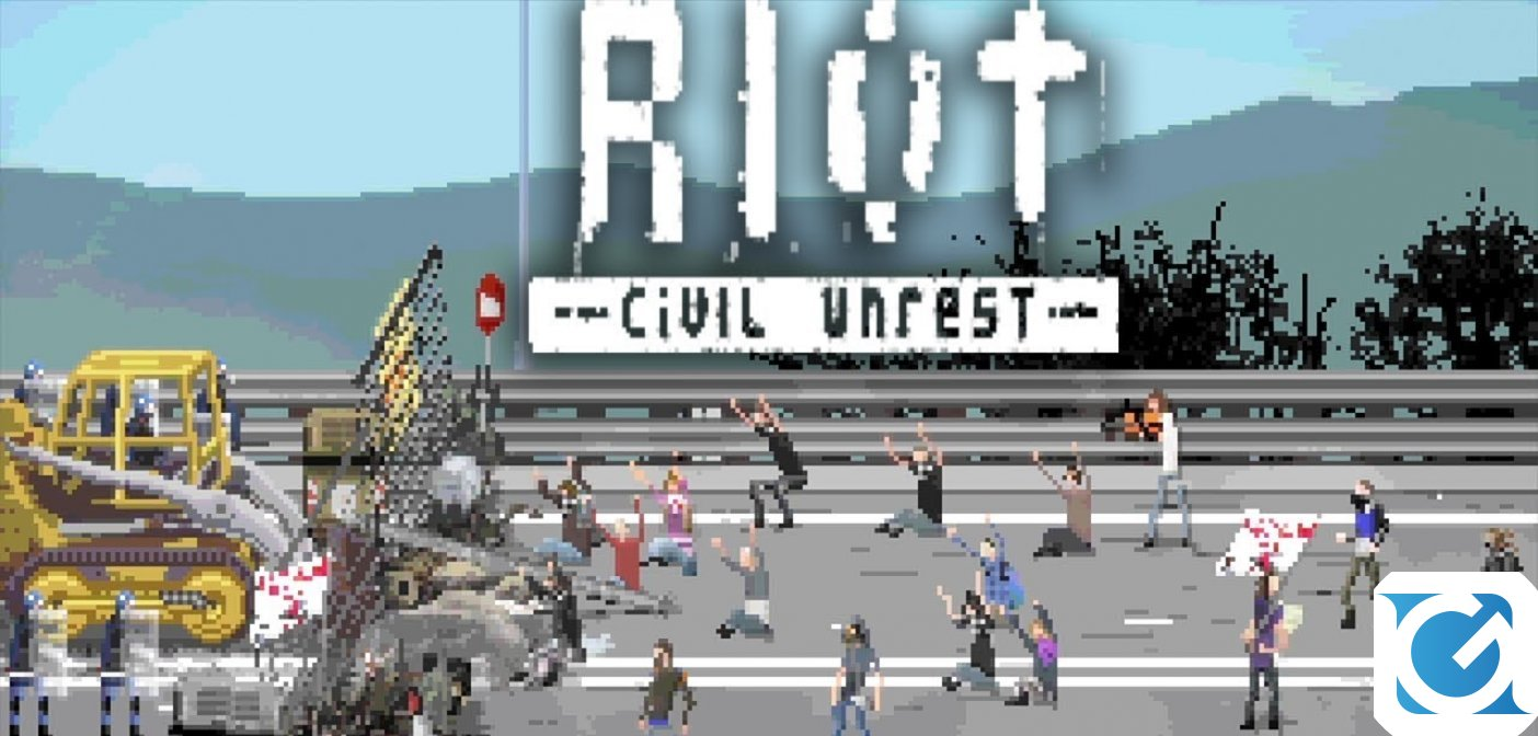 RIOT: Civil Unrest è disponibile per XBOX One, Playstation 4 e Switch