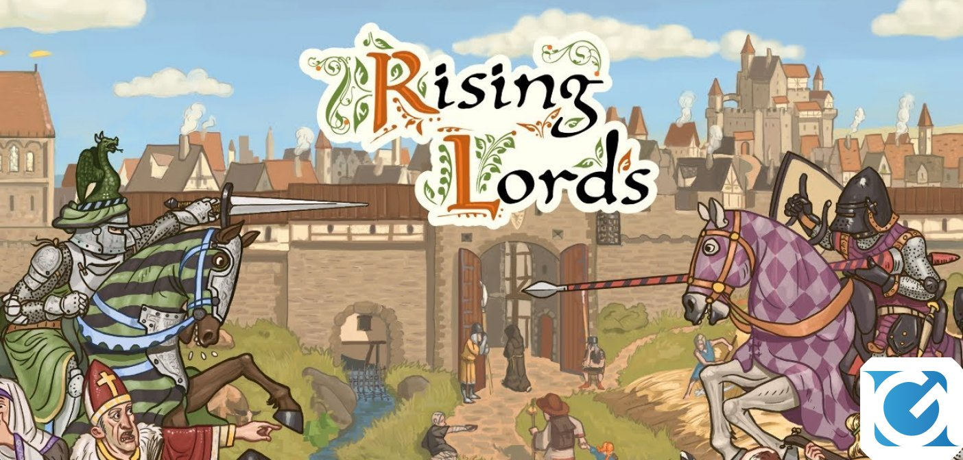 Rising Lords, lo strategico a tema medievale entrerà in Early Access a fine maggio